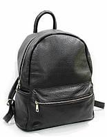 Рюкзак женский кожаный чёрный 2450.
