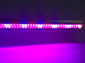 Фитосветильник для растений, T8, 16 Вт, 120 см, 96LED