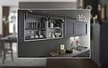 Итальянская современная кухня из натурального дерева в сером цвете модель CRETA GRIGIO фабрика EFFE QUATTRO, фото 2