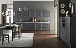 Итальянская современная кухня из натурального дерева в сером цвете модель CRETA GRIGIO фабрика EFFE QUATTRO, фото 4