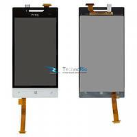 Модуль Дисплей HTC A620e Windows Phone 8S Domino с тачскрином, белый