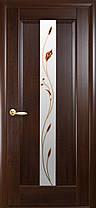 Межкомнатные двери Новый Стиль Премьера стекло с рисунком, фото 3