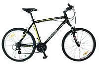 Велосипед Mascotte Celeste 26 черно-желтый