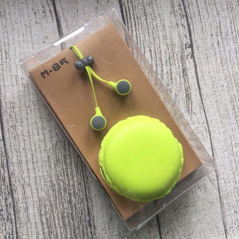 Наушники зеленые  Macarons Макаруны Sibyl