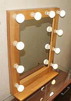 Зеркало с рамой из дерева Модель WM0002