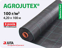 Тканный агротекстиль Agrojutex 100г/м2, 4,2м*100м