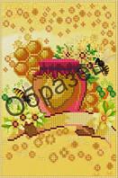 Схема для вышивки бисером «Мед и пчелы»