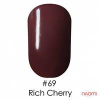 Гель-лак Naomi 069 Rich Cherry, 6 мл