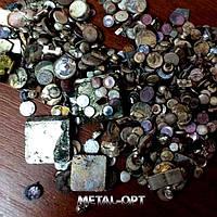 Сбор условно-чистого серебра