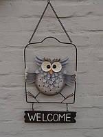 "Табличка на двери ""Welcome"" 40см"