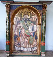 Икона Иисус на престоле, Панкратор, 17 век