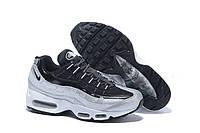 Кроссовки Nike Air Max 95 Silver Black