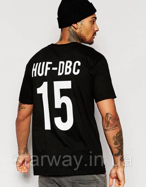 Футболка принт |HUF x Thrasher Team|