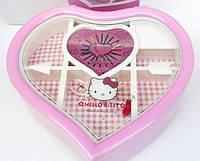 Детская музыкальная шкатулка Heart Hello Kitty
