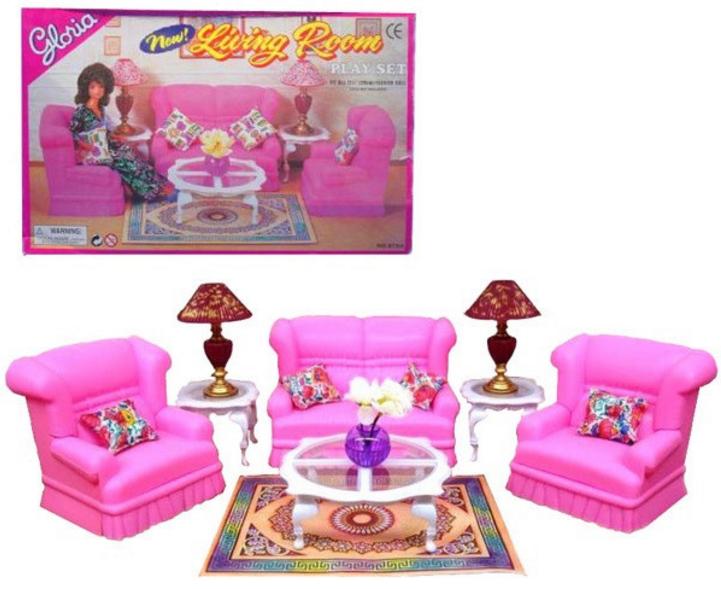 Мебель для кукол 9704 Гостинная