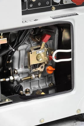 Генератор Hyundai DHY 6000SE, фото 2