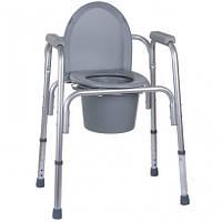 Алюминиевый стул-туалет 3 в 1 OSD (Италия)