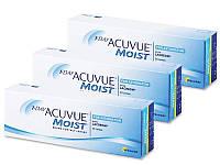 Контактные линзы 1 Day Acuvue Moist for Astigmatism (90шт.)