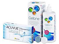 Контактные линзы Acuvue Oasys + розчин Gelone 360ml