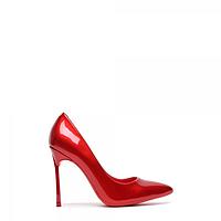 Женские туфли из лаковой кожи