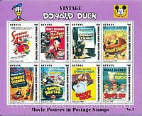 Дисней Disney марки - Donald Duck - Выпуск №3