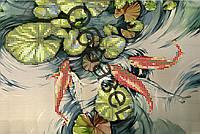 Схема для вышивки бисером «Японский прудик»