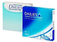 Контактные линзы Dailies AquaComfort Plus (90шт.)