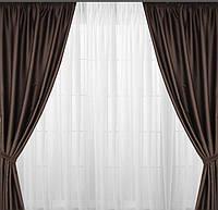Готовые шторы с плотной ткани