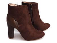 Демисезонные женские ботинки на каблуке размеры 35-41