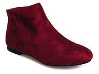 Женские ботинки из искутвенного замша