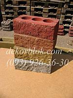 Облицовочный кирпич рваный камень, фото 1