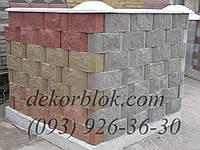 Блоки рельефно колотые для облицовки
