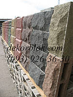 Блоки декоративные колотые Объемный раскол, фото 1