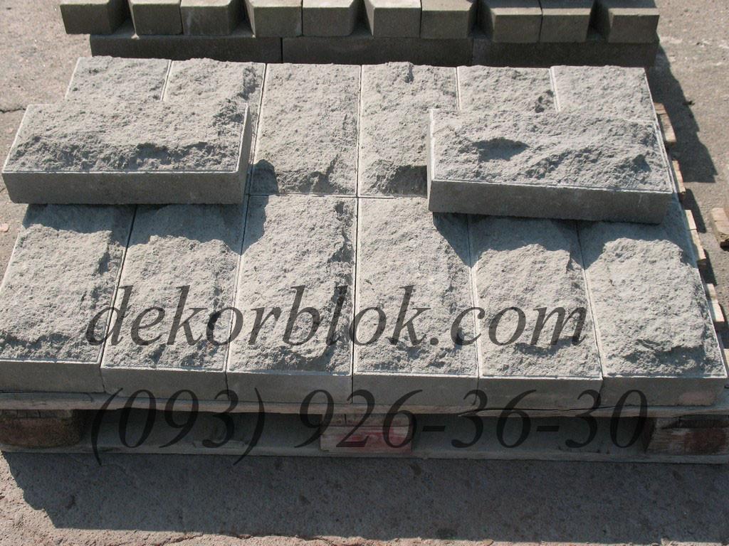 Фасадный рваный камень для облицовки