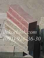Кирпич облицовочный декоративный широкий 250х80х140мм