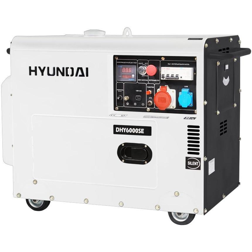 Генератор Hyundai DHY 6000SE
