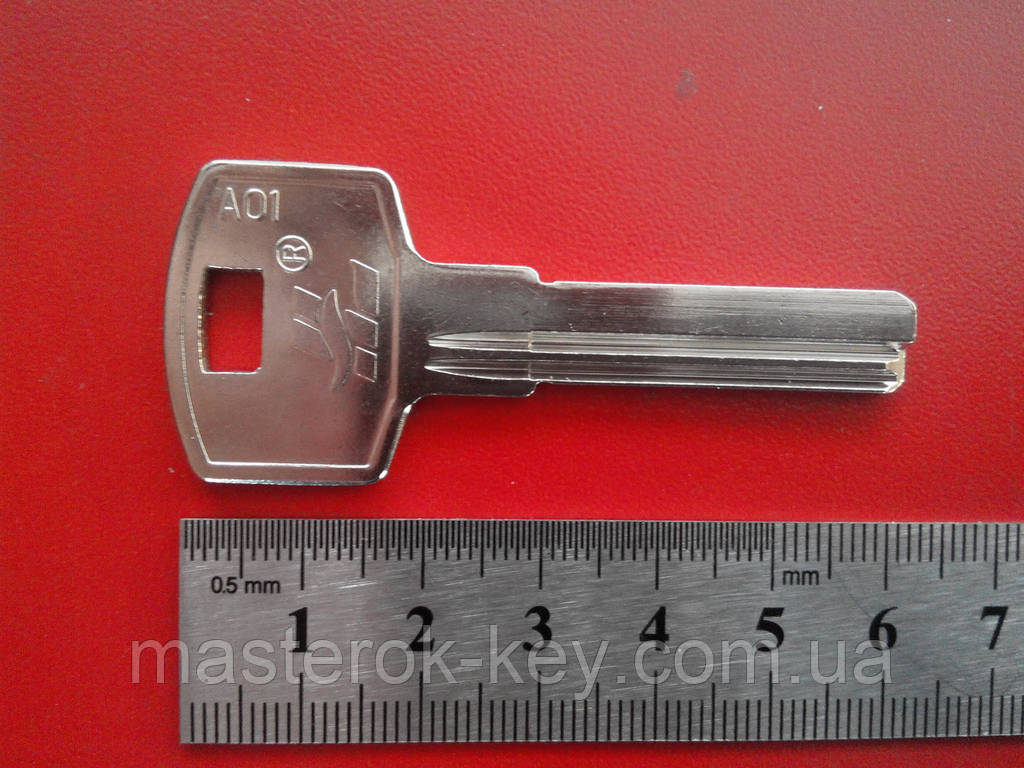 Заготовка ключа HOOPLY металл