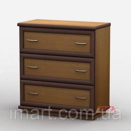Купить Комод 004/2 меламин, Тиса мебель