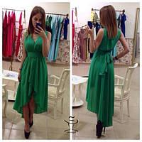 Женское Превосходное длинное Платье макси в пол  стильное и модное    Диля