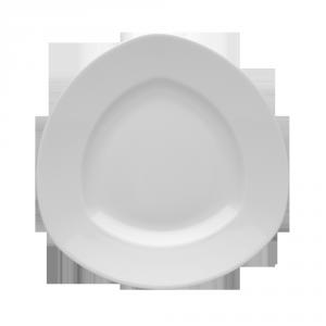 Тарілка мілка трикутна 320 RITA