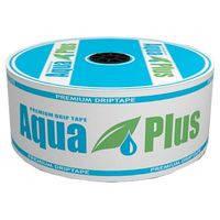Капельная лента Aqua Plus (Аква плюс) 8 милс, 10 см, 1 л/ч, 500 м бухта, Украина