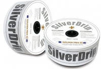 Капельная лента SilverDrip (СильверДрип) 8 милс, 15 см, 0,7 л, 1000 м бухта, Seowon Корея