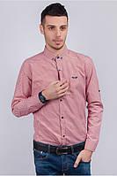 Рубашка casual хлопковая, мелкая клетка (46-L)