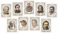 Комплект портретов в кабинет русской литературы