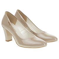 Туфли женские ZanZara (классические, лаковые, на устойчивом каблуке, удобные)