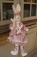Розовый заяц 50cm