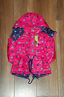 Курточка демисезонная ,ветровка для девочки 2 - 6 лет