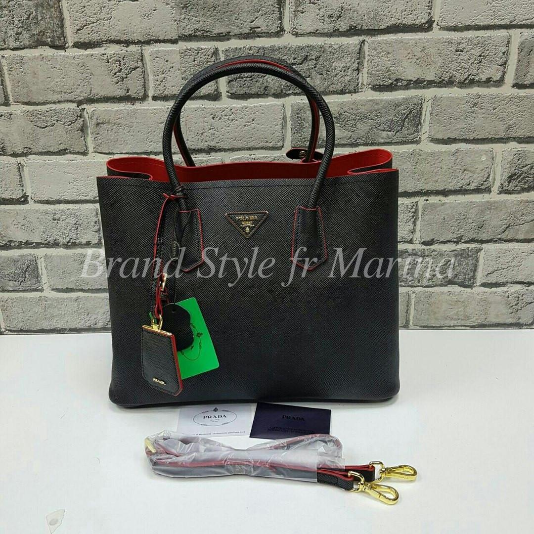 66ab2a7675ba Кожаная сумка Prada (Прада): продажа, цена в Харькове. женские ...