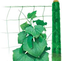 Шпалерная сетка Hortinet (Хортинет), 1000м х 1,7м (зеленая), TENAX (Тенакс) Италия