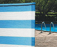 Сетка для затенения Солеадо 50м х 2м (бело-голубой, затенение - 85%)